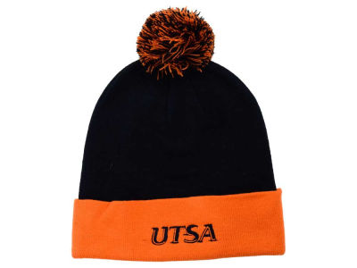 University of Texas San Antonio Roadrunners Top of the World NCAA 2 Tone Pom Knit
