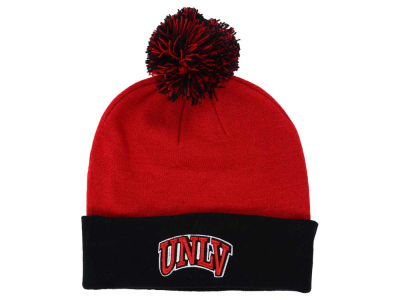 UNLV Runnin Rebels Top of the World NCAA 2 Tone Pom Knit