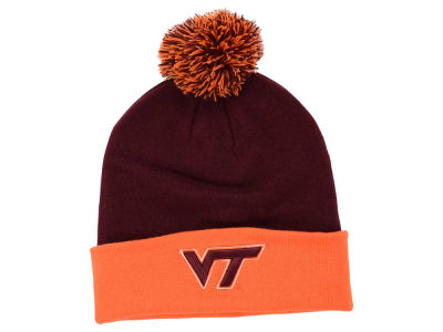 Virginia Tech Hokies Top of the World NCAA 2 Tone Pom Knit