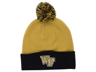 Wake Forest Demon Deacons Top of the World NCAA 2 Tone Pom Knit
