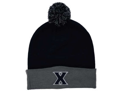 Xavier Musketeers Top of the World NCAA 2 Tone Pom Knit