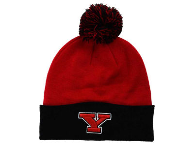 Youngstown State Penguins Top of the World NCAA 2 Tone Pom Knit