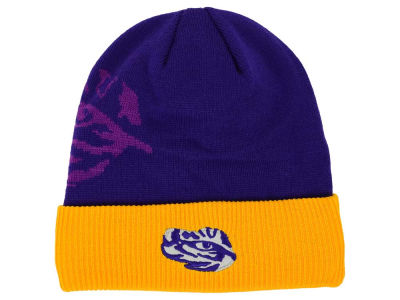 LSU Tigers Top of the World NCAA Shadow Logo Knit