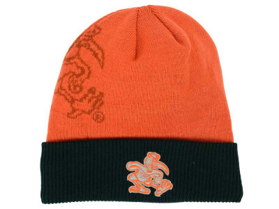 Miami Hurricanes Top of the World NCAA Shadow Logo Knit