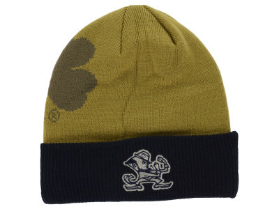 Notre Dame Fighting Irish Top of the World NCAA Shadow Logo Knit