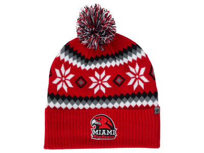 Miami (Ohio) Redhawks Top of the World NCAA Fogbow Knit