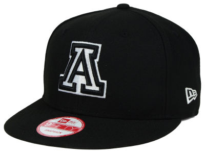Arizona Wildcats New Era NCAA Black White Fashion 9FIFTY Snapback Cap