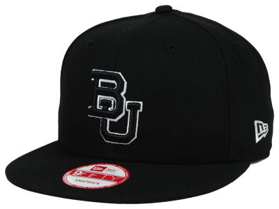 Baylor Bears New Era NCAA Black White Fashion 9FIFTY Snapback Cap