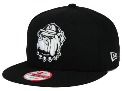 Georgetown Hoyas New Era NCAA Black White Fashion 9FIFTY Snapback Cap