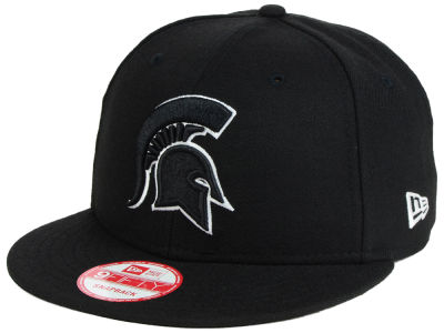 Michigan State Spartans New Era NCAA Black White Fashion 9FIFTY Snapback Cap
