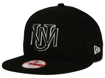 New Mexico Lobos New Era NCAA Black White Fashion 9FIFTY Snapback Cap