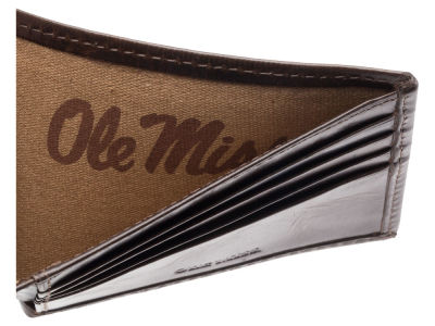 Ole Miss Rebels Jack Mason Legacy Traveler Wallet