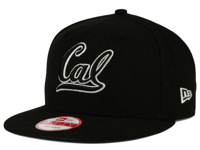 California Golden Bears New Era NCAA Black White Fashion 9FIFTY Snapback Cap