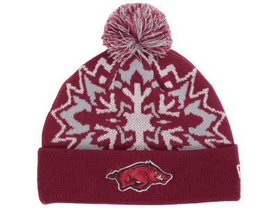Arkansas Razorbacks New Era NCAA Glowflake 2.0 Knit