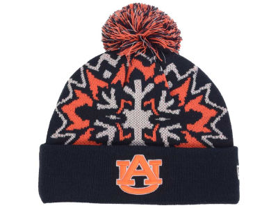 Auburn Tigers New Era NCAA Glowflake 2.0 Knit
