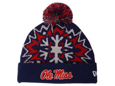 Ole Miss Rebels New Era NCAA Glowflake 2.0 Knit
