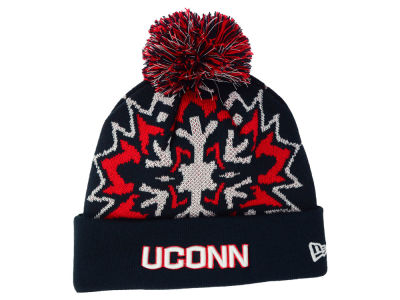 Connecticut Huskies New Era NCAA Glowflake 2.0 Knit