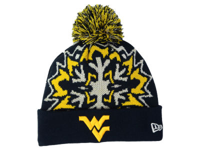 West Virginia Mountaineers New Era NCAA Glowflake 2.0 Knit