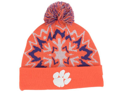 Clemson Tigers New Era NCAA Glowflake 2.0 Knit