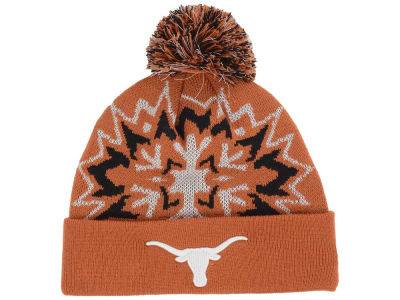 Texas Longhorns New Era NCAA Glowflake 2.0 Knit