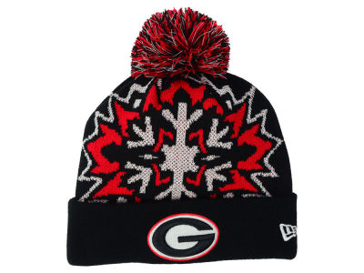 Georgia Bulldogs New Era NCAA Glowflake 2.0 Knit