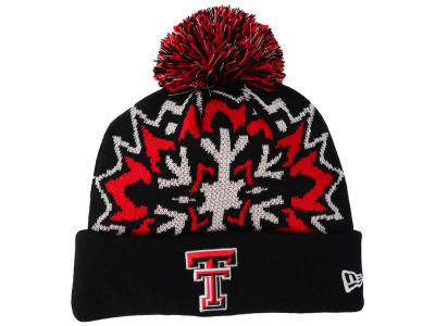 Texas Tech Red Raiders New Era NCAA Glowflake 2.0 Knit