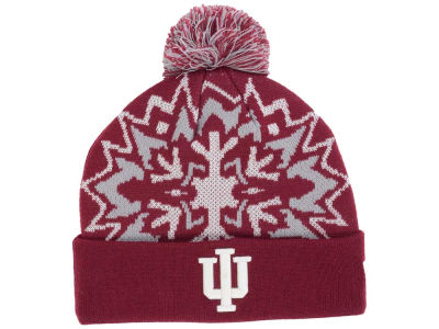 Indiana Hoosiers New Era NCAA Glowflake 2.0 Knit