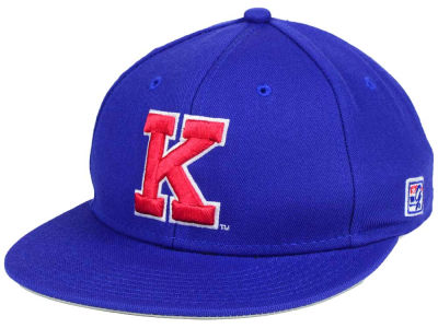 Kansas Jayhawks NCAA Game Fitted On-Field Hat