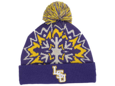 LSU Tigers New Era NCAA Glowflake 2.0 Knit