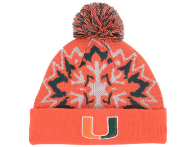 Miami Hurricanes New Era NCAA Glowflake 2.0 Knit