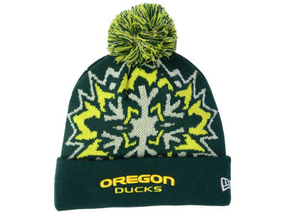 Oregon Ducks New Era NCAA Glowflake 2.0 Knit