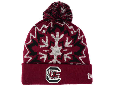 South Carolina Gamecocks New Era NCAA Glowflake 2.0 Knit