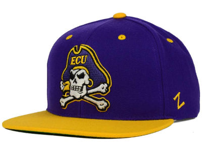 East Carolina Pirates Zephyr NCAA Apex Snapback Hat