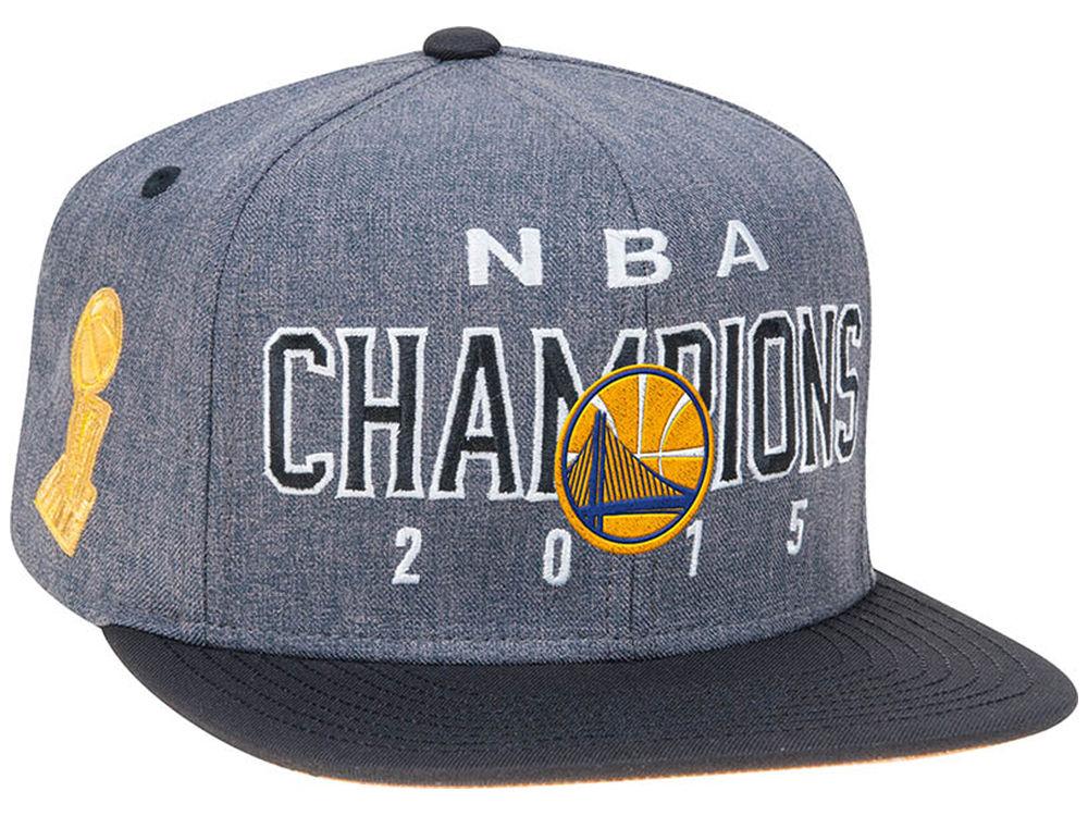 Golden State Warriors adidas 2015 NBA LR Finals Champ Snapback Cap ... 833107c6f37