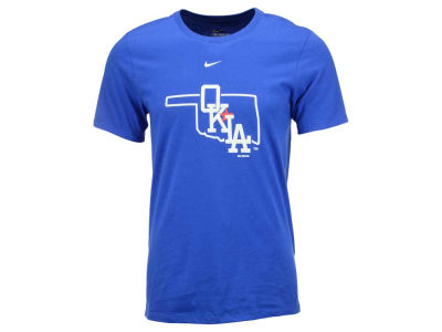 Oklahoma City Dodgers LTS MiLB All Purpose Wordmark T-Shirt