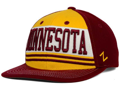 Minnesota Golden Gophers Zephyr NCAA Headline Snapback Hat