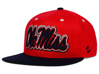 Ole Miss Rebels Zephyr NCAA Refresh Snapback Hat