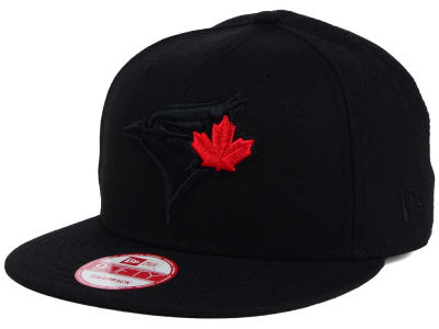 9f16f34961e Toronto Blue Jays New Era MLB Black on Black 9FIFTY Snapback Cap