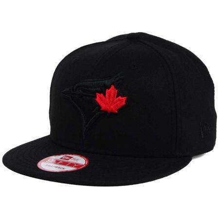 Toronto Blue Jays New Era MLB Black On Black 9FIFTY Snapback Cap