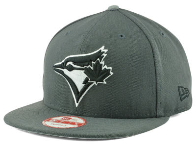 Toronto Blue Jays New Era MLB Gray Black White 9FIFTY Snapback Cap