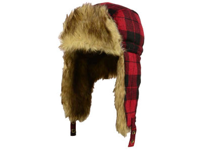 LIDS Private Label PL Buffalo Check Sherpa Flap Hat