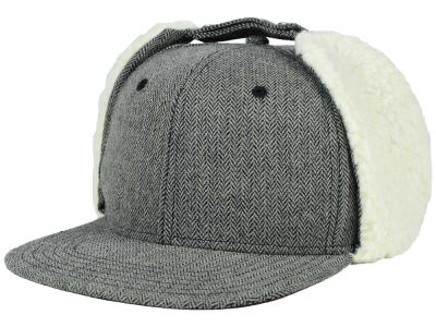 LIDS Private Label Herringbone Earflap Snapback Hat