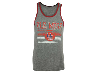 Ole Miss Rebels NCAA Men's Retro Contrast Streaky Tank