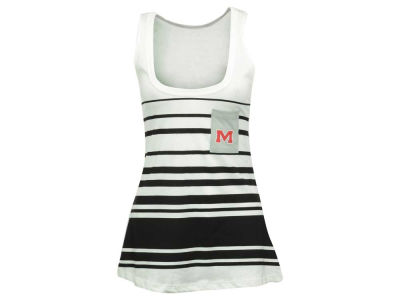 Ole Miss Rebels NCAA Women's 10 Yard Line Pocket Tank