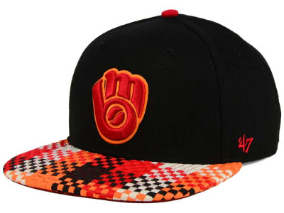 Milwaukee Brewers '47 MLB '47 Ruffian Snapback Cap