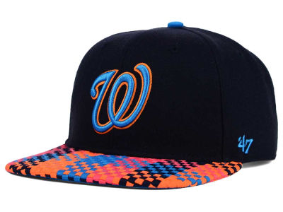 Washington Nationals '47 MLB '47 Ruffian Snapback Cap