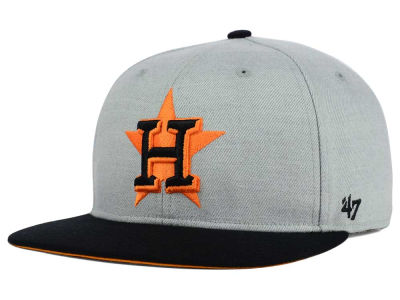 Houston Astros '47 MLB '47 Wrist Shot Snapback Cap