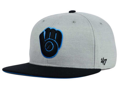 Milwaukee Brewers '47 MLB '47 Wrist Shot Snapback Cap