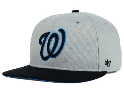 Washington Nationals '47 MLB '47 Wrist Shot Snapback Cap