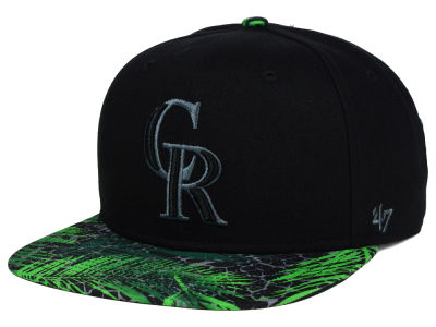 Colorado Rockies '47 MLB '47 Tonal Flagler Snapback Cap